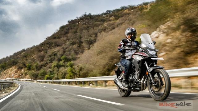 Acción Honda CB500X