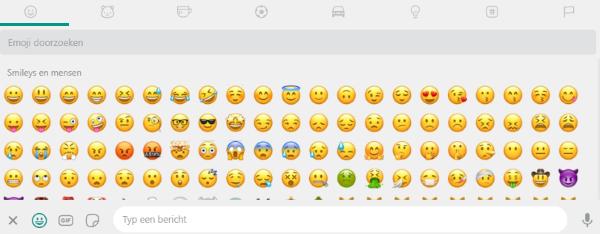 Usar emoticonos en WhatsApp