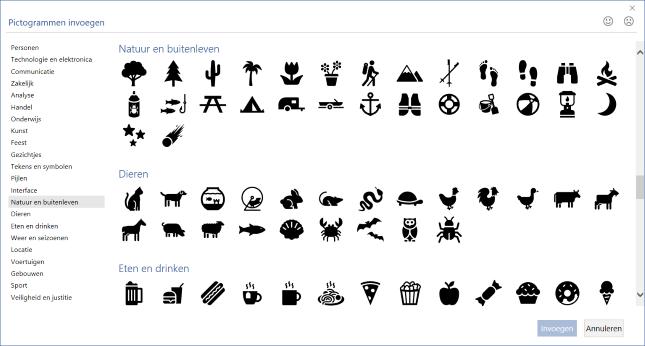 Agregar iconos en Word