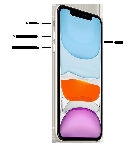 Botones en el iPhone