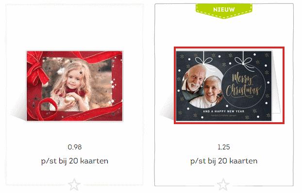 Tarjetas de Navidad a través de Greetz - 1