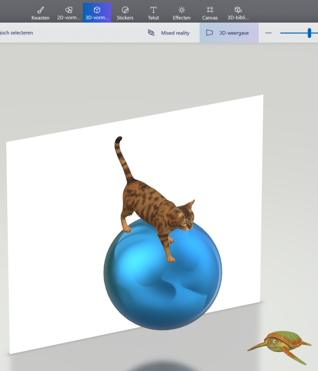 Representación 3D
